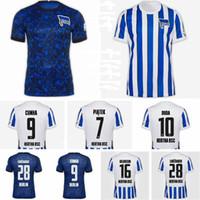 2021 Hertha Bsc Soccer Jersey 7 Piatek 28 Lukebakio 10 Duda 16 Dilrosun 9 Cunha 17 Mittelstadt Hertha Berlin Футбольная футболка Calcio