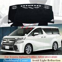 Couvercle de tableau de bord Coussin de protection pour Toyota Alphard Vellfire 30 AH30 2015 ~ 2020 Accessoires de voiture Dash Tableau pare-soleil Tapis 2019