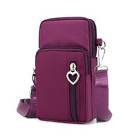 Wallets Sell Mobile Phone Bags With Metal Opening Crossbody Women Mini PU Leather Shoulder Messenger Bag For Girls Gift 2021