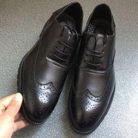 2018 moda mens scarpe brogue scarpe da sposa scarpe festa oxfords uomo taglia 40 41 42 43 44 45 46 Men0015 O4A5 #