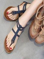 المرأة الصنادل الأزياء المعادن مشبك الأحذية للنساء الصنادل الصيف حذاء فليب فليب chaussures منصة صندل تنيس feminino 3.6 G1ap #