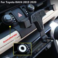 Support de téléphone de voiture pour Toyota Rav4 Rav 4 2019 2020 Support de téléphone portable dédié Stand de charge sans fil GPS GPS