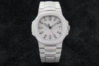 5719 V3 Montre de Luxe Diamond Studded Watch Cal.324 SC Relojes de movimiento mecánico automático de relojes de hebilla plegable relojes