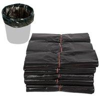 (A181-05E) Çöp Torbaları Siyah Tek Kullanımlık Çöp Atık Torba Sanitasyon Temizlik Ev Oda Çantası için 100 adet