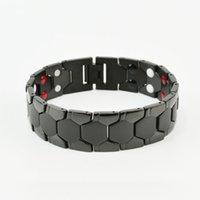 2021 Top Nuovo Braccialetto in acciaio in titanio Magnete personalizzato Coppia gioielli T6LJ