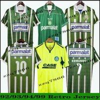 1992 1993 1994 2010 Palmeiras Retro Futbol Forması 93 94 Edmundo Zinho Edilson Rivaldo EVAIR Roberto Carlos Ewerthon Vintage Klasik Futbol Gömlek