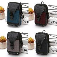 Wallets Men Double Mobile Phone Bag Fashion Portable Large Capacity Waist With Zipper Convenient Outdoor Sports Key Case