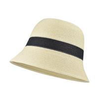 2021 Moda Kova Şapka Kadın Yabani Bahar Ve Yaz İnce Kesit Şapka Net Kırmızı Büyük Kafa Yüzü Küçük Kapak Yüz Balıkçı Şapka