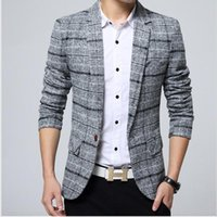New Fashion Casual 2021 Men Blazer Mens Business One Pulsante Slim Fit Masculino Maschio Abiti Jacke