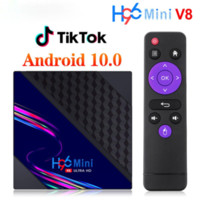 Some EU Country Free Customs H96 Mini V8 Smart TV Box Android 10 2GB RAM 16GB 1080p 4K Google Play H96Mini Media Player Set top Box 1G8G