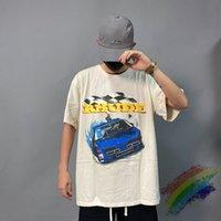2021 Nouveau T-shirt Rhude Hommes Femmes 1: 1 T-shirt à manches courtes de haute qualité T-shirt à manches courtes TEE 285S