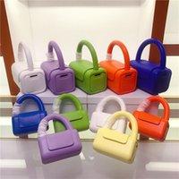 Evening Bags Designer Handbags Mini Shoulder Crossbody Bag For Women 2021 Jelly Purses Summer Tote Ladies Hand Sac A Main