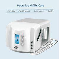 Portátil 2 en 1 Hidra Facial Hydro Dermabrasion Hydradermabrasion Diamond Tip Diambrasion Dispositivos Dispositivos de peeling de piel Levantamiento de cara