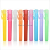 Fragrance Deodorant Health & Beauty10Ml Travel Portable Per Bottle Spray Sample Empty Containers Atomizer Mini Refillable Bottles Plastic Pe