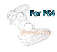 An-Slip Capa de Proteção Shell Controlador de Pele Cristal Protetor Completo Transparente Clear Case Hard para Sony Playstation 4 PS4