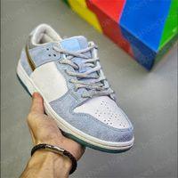 شون cliver x سكيت مجلس منخفض برو النساء الرجال الأحذية البيضاء نفسية الأزرق والأحذية المعدنية الذهب عطلة خاصة أحذية رياضية رجالي سكيت أحذية