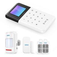 Smart Home Control Tuya Wireless Anti-theft Alarm System Host App One-Key Distribution Network GSM + WiFi Security EU / US / UK Plug