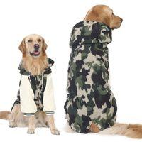 Vêtements de chien d'hiver pour grands gros chiens Gros chiens Golden Retriever Réchauffer Down Veste épaissie camouflage chien manteau animaux domestiques Y200917