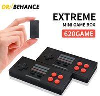Extreme Super Mini Box 2.4G Wireless Gamepad Handheld-Spielkonsole 620Games Retro 8 Bit-Spiele-Unterstützung TV-Ausgang