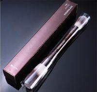 Kum saati peçe tozu makyaj fırçası çift uçlu toz fosforlu ayarı kozmetik makyaj fırça ultra yumuşak sentetik saç 3 adet