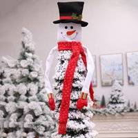 Christmas Decorations High Quality Snowman Top Decoration Of Tree Year Party Ornaments For Home El Market School