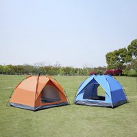 Tents And Shelters 210D Oxford Cloth Outdoor Camping Couple Double People Automatic Spring Type Quick Opening Rainproof Sunscreen Tent
