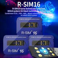 RSIM16 R-SIM 16 فتح بطاقة RSIM-16 Original Durns Locked في نظام iOS14 غير مقفز 5G Unlocking for iPhone 12 Pro Max 11Pro 11 × XS 8 Plus 7 6