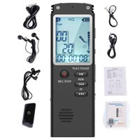 Smart Home Control Voice Activated Mini Digital Sound Audio Recorder Dictaphone MP3 Player Large Screen