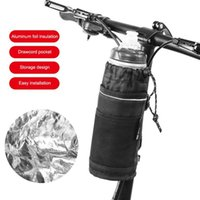 Water Bottles & Cages Bicycle Headstock Kettle Bag Cycling Bottle Carrier Pouch MTB Bike Bags Riding Handlebar Accessories
