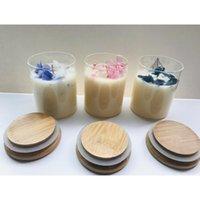 Vela de aniversário fazendo DIY frascos borossilicados vadro de vidro vasilha vasilha de vasilha de chá petiscos garrafa doces candle frasco jllagz