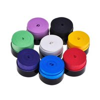 Sweatband 10Pc Sticky Smooth Adhesive Sweat Absorbing Grip Tape Overgrip For Badminton Squash Racket And Fish Rubber (Random Col