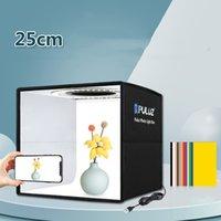 حلقة ضوء تسليط الضوء المحمولة استوديو مجموعة 25 سنتيمتر صور الدعائم التصوير معدات الإضاءة معدات الاستوديو شحن مجاني