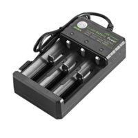 Multifuncional 18650 USB Carregador 3 Slot Bateria de Li-ion Potência para baterias de lítio recarregáveis Atacado