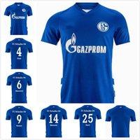 21 22 Schalke Soccer Jerseys Kutucu Serdar 2021 2022 Raman Football Shirt Harit Maillot de Pie