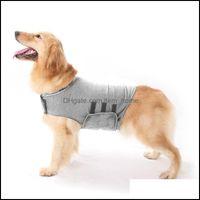 Собака для собак Главная Гардендог Одежда Тингао Домашние животные Puppy Anti-Traching Куртка Костюм Собаки Собаки Защита для тела Хлопок Pet Emotional Appeasin