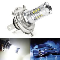 Universel 1pc h4 80w 6000k 1000lm LED brouillard drl 360 degrés de conduite de voiture de voiture de voiture lampe ampoules blanches super lumineuses faible consommation