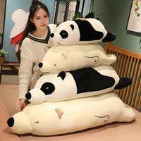 70 cm Cute Soft Plush Panda Poduszki Zabawki Faszerowane Zwierząt Plushie Niedźwiedź Polarny Sofa Łóżko Poduszka Dzieci Dziewczyny Urodziny Prezent Home Decor