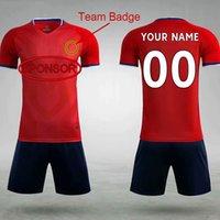 DIY Fussball Wear Custom Jersey Team Bestellen Sie eigene Logos 018