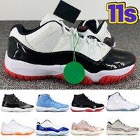 2021 11 11s zapatillas de baloncesto para hombre 25 aniversario bajo blanco bred legend blue concord pantone gorra y bata para hombre, mujer, zapatillas de deporte