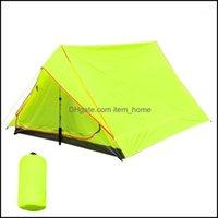 Tende Escursionismo Sport All'aperto e Rifugi All'aperto Traalight Cam Tenda Summer Beach Pesca Impermeabile Portable Sole Shelter 2 Person bac