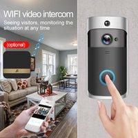 Cámara de timbre inalámbrico WiFi M4 1280 * 720 WiFi Timbre con 6pcs Night Light Support Pir for M4 Video Doorbell