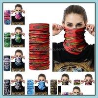 Bandanas Wraps Hats, Scarves & Gloves Fashion Aessories Scarfs Outdoor Mask Mtifunctional Cycling Bandana Women Men Hair Band Scarf Magic He