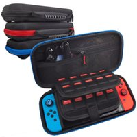 Nintendo 스위치 콘솔 케이스 내구성 게임 카드 저장 가방 운반 케이스 하드 EVA 가방 쉘 휴대용 보호 주머니 상자 포장