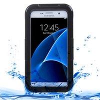 Шкафы для Galaxy S7 G930 IPX8 пластиковый силиконовый прозрачный водонепроницаемый защитный чехол с тарелкой