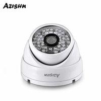 Azishn 5MP 4MP 3MP 1080 P Güvenlik Yüz Algılama H.265 Dome IP Kamera Poe P2P CCTV Açık Su Geçirmez Metal Gözetim XMeye
