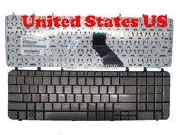 Keyboards Laptop-Tastatur für DV7-1000 Brauner Silber US / CA / TR / GR 483275-001 V080602DK1 EF V0805021 GR MP-07F13US6698