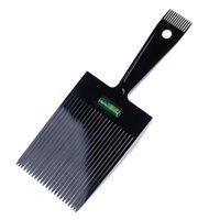 Hair Brushes Extra Big Flattoper Comb Large Wide Fork Flat Combs With Balance Ruler Topper Styling Hairdressers Tool
