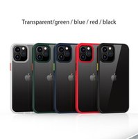 Shockproof Protection Case Cover for iPhone 12 XS XR 11 PRO MAX 7 8 PLUS Hard PC+TPU Non-Slip Perfect Grip Phone Shell Case
