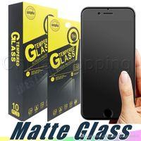 Matte Anti PingurePrint Закаленный стеклянный экран защитная защитная рамка для iPhone 12 Mini 11 Pro XR XS MAX 6 6S 7 8 плюс