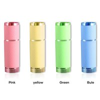 Nail Art Kits Small Glow Flashlights With 9 LED Lights UV Currency Detector Lamp Portable Light Dryer For Gel M88
